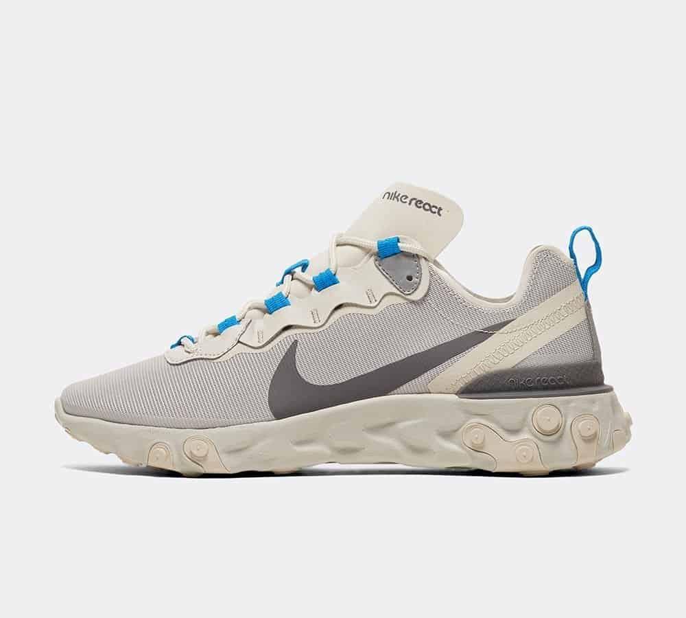 Nike React Element 55 Light Bone / Dark Grey