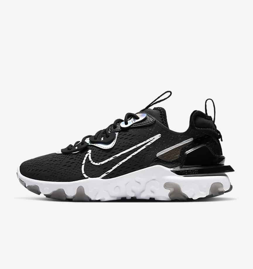 Nike NSW React Vision Black: Iridescent 2