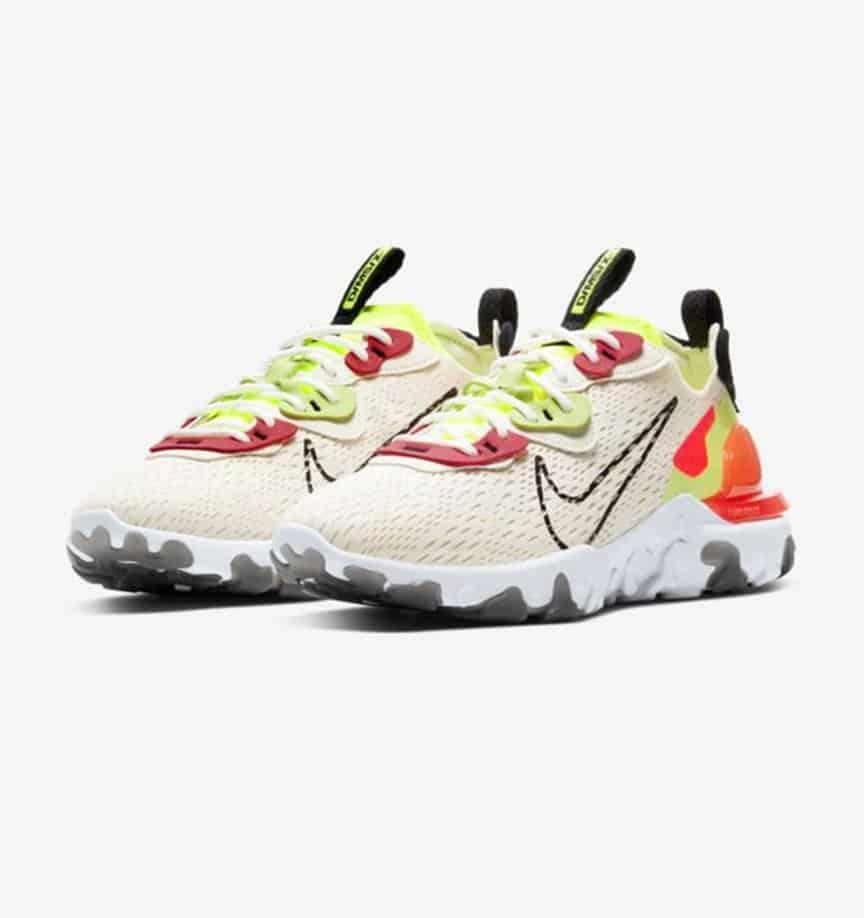 Nike React Vision 'Pale Ivory' 1