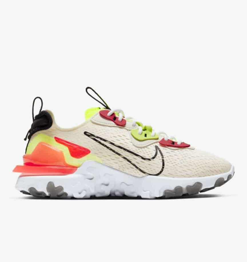 Nike React Vision 'Pale Ivory' 6
